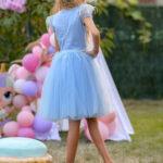 Rochie Nicolle blue